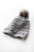 J. Jill Cabled Pom-Pom Hat