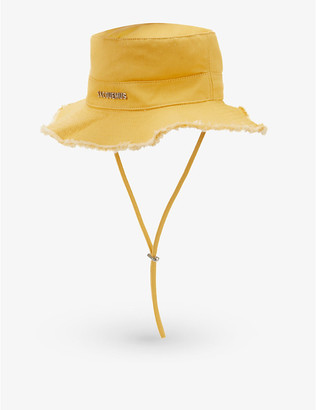 Jacquemus Le Bob Artichaut cotton-twill sun hat
