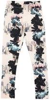 Molo Niki Floral City Stretch Jersey Leggings, Light Pink, Size 3-12