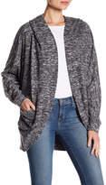 Angie Soft Heather Knit Open Jacket