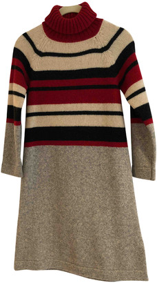 Sportmax Red Wool Dresses