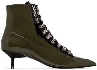 Marques Almeida Lace-Up 50mm Ankle Boots