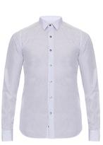 Valentino Micro Pencil-striped Long-sleeved Cotton Shirt