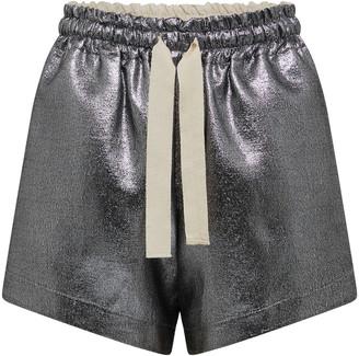 ARTCLUB Capra Drawstrin Lurex Shorts