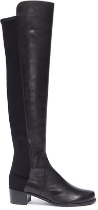 Stuart Weitzman 'Reserve' stretch leather knee high boots