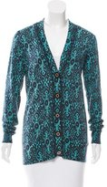 Tory Burch Abstract Print Wool Sweater