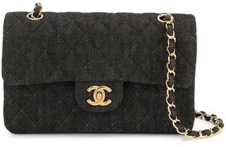 Chanel Pre Owned Double Flap Shoulder Bag