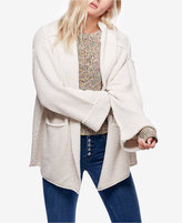 Free People Low Tide Shawl-Collar Duster Cardigan