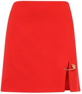 Versace Stretch Cady Mini Skirt