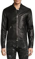 Diesel Black Gold Lionel Leather Jacket