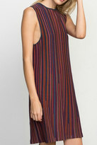 RVCA Striped Knit Dress