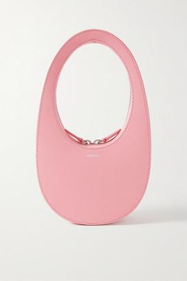 Coperni Swipe Mini Leather Tote - Baby pink