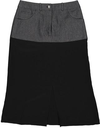 Christian Dior Black Silk Skirt for Women