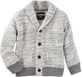 Osh Kosh Space Dye Shawl Collar Cardigan