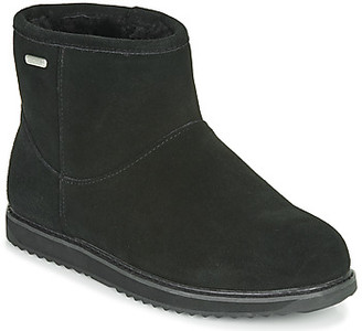 Emu PATERSON CLASSIC MINI WATERPROOF women's Mid Boots in Black