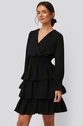 Trendyol Tile Waist Ruffled Dress