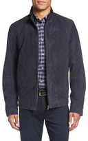 Ted Baker Men's 'Gregg' Trim Fit Suede Jacket