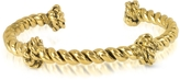 Aurelie Bidermann Palazzo Gold Plated Rope Bracelet