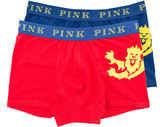Thomas Pink Lions Seddo Jersey Boxer Shorts - Pack Of 2