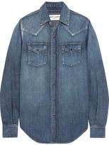 Saint Laurent Denim Shirt - Mid denim