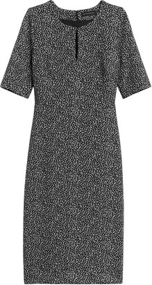 Banana Republic Keyhole Sheath Dress