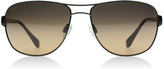 Maui Jim Sand Island Sunglasses Dark Brown 25A Polariserade 63mm