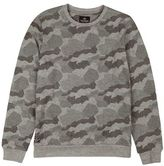 Burton Mens Threadbare Grey Camouflage Print Sweatshirt*