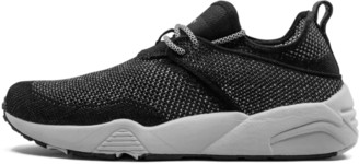 Puma Stampd Trinomic Woven Shoes - Size 8