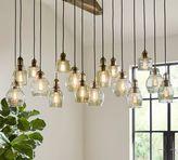 Pottery Barn Paxton Glass 16-Light Pendant