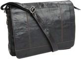 Jack Georges Voyager Messenger Bag - Buffalo Leather
