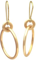 Lily Flo Jewellery Serendipity Solid Gold Drop Earrings