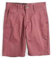 Volcom Boy's Cotton Twill Shorts