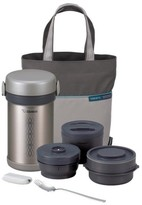Zojirushi Ms. Bento Stainless Steel Lunch Jar Set