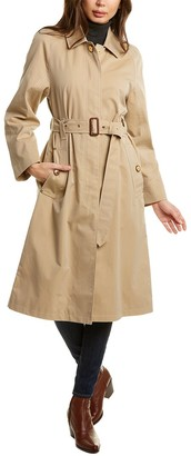 Burberry Tropical Belted Car Coat