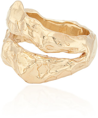 Fie Isolde My Ray Big 14K Yellow Gold Ring