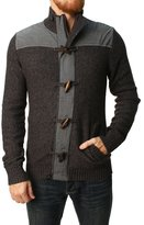 Retrofit Men' Full Zip Mock Neckweater-mall