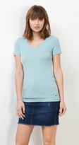 Esprit Basic stretch cotton T-shirt