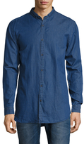 Zanerobe Tuck Collar Denim Sportshirt