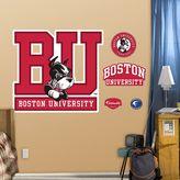 Fathead Boston University Terriers Logo Wall Decals