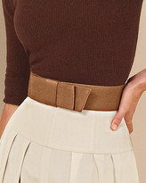 Sateen belt