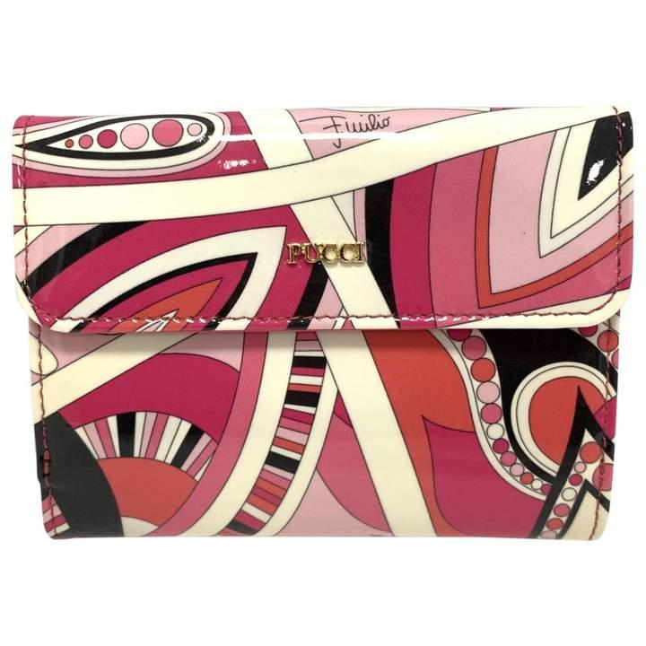 Emilio Pucci Multicolour Patent leather Wallets