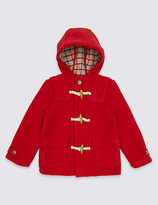 Marks and Spencer Paddington Duffle Coat with Wool (3 Months - 6 Years)