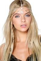 Boohoo Harriet Faux Pearl Head Chain