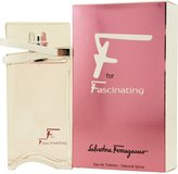 Salvatore Ferragamo F for Fascinating Eau De Toilette Spray - 50ml-1.7oz
