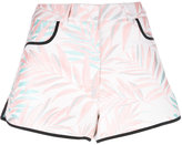House of Holland Palm Leaf shorts - women - Cotton/Polyester - 6