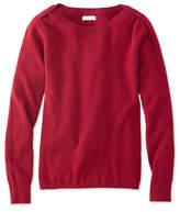 L.L. Bean Signature Cashmere Boatneck Sweater
