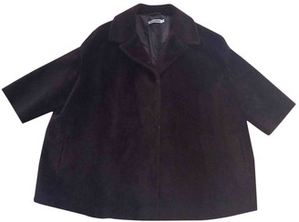 Jil Sander Brown Faux fur Coat for Women