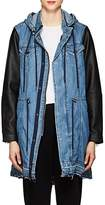 Blank NYC Blanknyc Women's High & Dry Denim & Faux-Leather Jacket