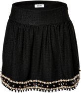 Moschino Embellished Hem Skirt