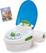 Summer Infant Step-By-Step Potty Trainer And Step Stool, Blue/ Green